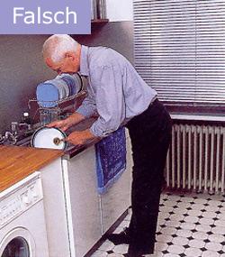 Osteoporose Sachsen - So waschen Sie falsch auf