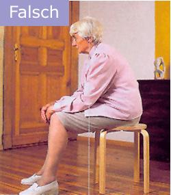 Osteoporose Sachsen - So sitzen Sie falsch