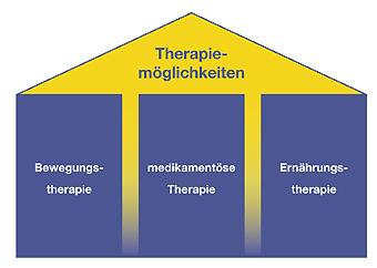 Landesselbsthilfeverband Sachsen für Osteoporose e.V. - 3 Säulen der Therapiemöglichkeiten