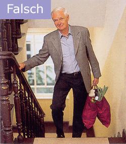 Osteoporose Sachsen - So tragen Sie Ihre Einkäufe falsch